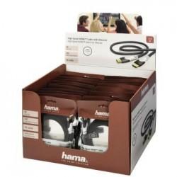 Cable Video HDMI-HDMI 1 5m Negro HAMA