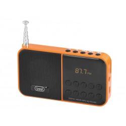 RADIO FM CON REPRODUCTOR DE MP3 Y MICROSD TREVI