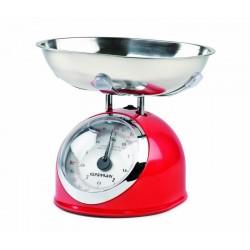 Balanza de cocina mecánica ASKA roja G3FERRARI