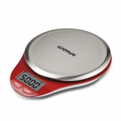 Balanza de cocina electrónica  G3FERRARI roja