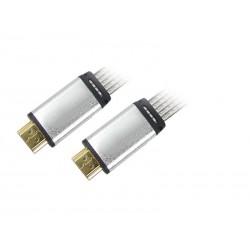 CABLE PLANO HDMI TRANSPARENTE PROFESIONAL TREVI