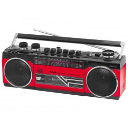 GRABADORA DE RADIO RR 501 BT BLUETOOTH ROJO TREVI