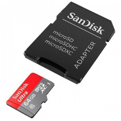 ULTRA ANDROID SANDISK SDXC SD MICRO   ADAP 64GB 80