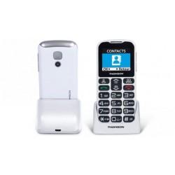 TELEFONO LIBRE THOMSON SEREA51 BLANCO PARA MAYORES