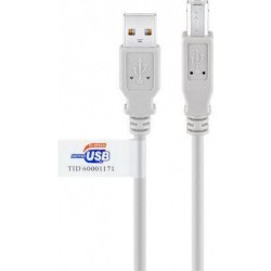 CABLE 3m USB 2 0 Tipo A USB 2 0 TipoB WIRBOO