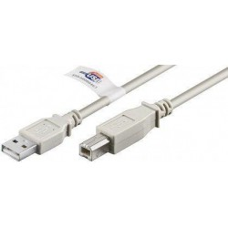 CABLE USB 2 0  TIPOA TIPOB 2MTS WIRBOO
