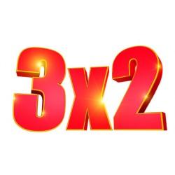 3x2 pack