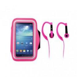 brazalete   auricular rosa TNB