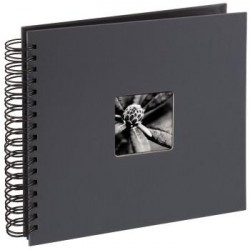 Album Pegar 28x24 50P Fine Art Gris HAMA