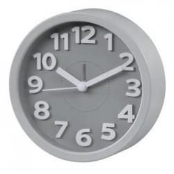 reloj retro gris