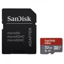 SANDISKMICROSDHC ULTRA 32GBC10 98MB/S ADAP ANDROID